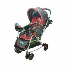 Beli Pliko Nitro Pk 369 Baby Stroller Kereta Dorong Bayi 4 In 1 Merah Baru