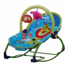Review Pliko Pk 308 Hammock Rocking Chair Polkadot Baby Bouncer Ayunan Bayi Multicolor Indonesia