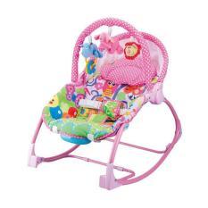 Pliko - Rocking Chair Hammock 3 Phases - Pink Owl