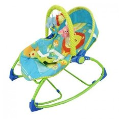 Pliko Rocking Chair Hammock Bouncer 3 Phases Lion Green