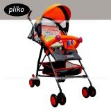 Cara Beli Pliko Stroller New Buggy Techno S 107 Kereta Dorong Bayi Orange