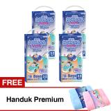 Beli Pokana Popok Pants Super M 32 Boys Karton Isi 4 Gratis Handuk Premium Online Murah