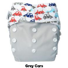 Harga Popok Bayi Murah Clodi Ztwo Grey Cars By Rumah Popok Sakti Merk Multi