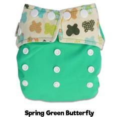 Spesifikasi Popok Bayi Murah Clodi Ztwo Spring Green Butterfly Insert Katun Bamboo By Rumah Popok Sakti Terbaik
