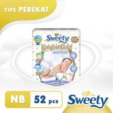 Ulasan Lengkap Sweety Popok Gold Comfort Nb 52
