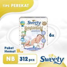 Harga Popok Sweety Gold Comfort Nb 52 Isi 6 Online