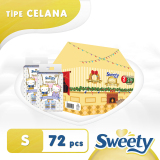 Review Sweety Popok Gold Pants Home Away Packaging S 36 X 2 Indonesia