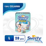 Harga Sweety Popok Silver Pants L 28 Origin