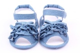 Penawaran Istimewa Populer Topi Musim Panas Dengan Pita Sandal Bayi Cowboy Balita Bayi Sandal Sepatu 1500 Biru Intl Terbaru