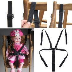 Portable Bayi Chair Stroller Lima Point Safety Belt-Intl