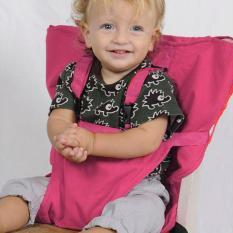 Portabel Kursi Tinggi untuk Bayi Kursi Anak Kursi Bayi Kursi Sabuk Kursi Tinggi EAT. Berwarna Merah Muda
