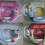 Jual Potty Seat Toilet Training Handle Dudukan Toilet Anak Corak Cowok Import