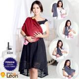 Beli Premium Gendongan Kaos Baby Leon Cotton Geos Selendang Katun Slendang Bayi By 46 Gb Ukuran L Red Chili Online