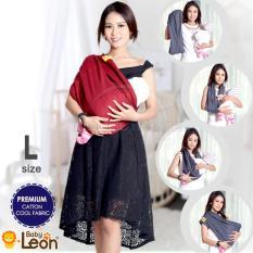 Beli Premium Gendongan Kaos Baby Leon Cotton Geos Selendang Katun Slendang Bayi By 46 Gb Ukuran L Red Chili Dengan Kartu Kredit