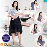 Toko Jual Premium Geos Gendongan Kaos Baby Leon Selendang Katun Slendang Bayi Motif Lucu By 48 Gb Ukuran S Strip Kecil Black