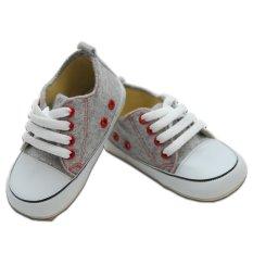 Spesifikasi Prewalker Shoes Greyshuff By M And M Baby Shoes Murah
