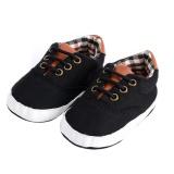 Spesifikasi Prewalker Sepatu Newborn Baby Leisure Lacing Kanvas Sepatu Lembut Sole Sepatu Yang Bagus
