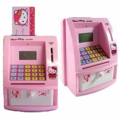 Prime Celengan ATM Hello Kitty / Friends - Pink