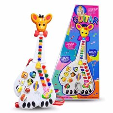 Prime Gitar Jerapah Mainan Anak - Animal Toys By A Prime Universe.