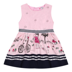 Putri Gadis Tanpa Lengan Gaun Perempuan Baju Bayi