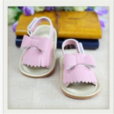 Putri Balita Dorong Sepatu Bayi Gadis Lembut Sole Anti Slip Sandal Merah Muda Intl Oem Diskon 40