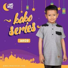 PROMO  AMMAR KIDS  Baju Koko Anak Laki-Laki - AK 03