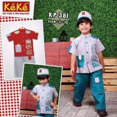 PROMO Discount KP 381 KOKO ANAK Katun Lengan Pendek Keke Termurah Branded