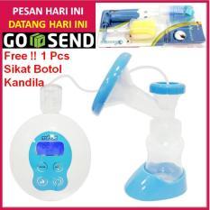 PROMO GAJIAN !!! Electric Breast Pump MABAKI Digital - Pompa ASI Elektrik Bisa Pakai Baterai Charge