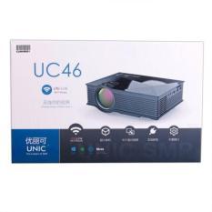 TERLARIS !!! New Mini Projektor Unic Uc46 Projector Wifi 1200 Lumens portable Proyektor Bukan Uc40 Uc 40 murah dan bagus cocok untuk Bisnis Pendidikan dan hiburan
