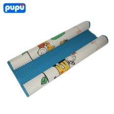 Jual Pupu Air Filled Rubber Cot Sheet Size L Motif Biru Branded Murah