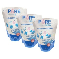 Jual Pure Baby Laundry Liquid 450 Ml Refill Buy 2 Get 3 Original