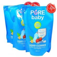 Diskon Besarpure Baby Liquid Cleanser 450Ml Refill Buy 2 Get 3