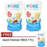 Beli Pure Baby Liquid Cleanser 700Ml Refill Buy 2 Get 1 Online
