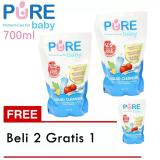 Jual Beli Online Pure Baby Liquid Cleanser Refill 700 Ml Beli 2 Gratis 1
