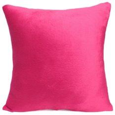 Warna Murni Yang Lembut dan Bantal Kursi Sofa Mewah Kasus Mobil Cushion Cover Rumahdekorasiative-Intl