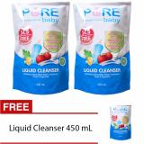 Beli Purebaby Liquid Cleanser Refill 450Ml Buy 2 Get 1 Baru