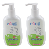 Harga Purebaby Wash 2 In 1 230 Ml 2 Packs Purebaby