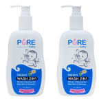 Spesifikasi Purebaby Wash 2 In 1 Freshy Pump 2 Pcs Yg Baik