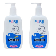 Promo Purebaby Wash 2 In 1 Freshy Pump 2 Pcs Akhir Tahun