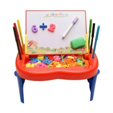 Harga Mainan Anak Papan Tulis Easel Fullset Murah