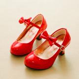 Katalog Putri Kecil Bertumit Tinggi Sepatu Dansa Gadis Sepatu Oem Terbaru