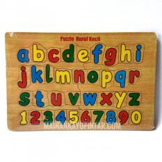 Puzzle Kayu Alfabet Huruf Kecil