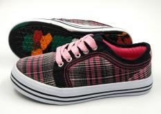 Perbandingan Harga Qingdao Double Star Renda Siswa Sepatu Anak Perempuan Sepatu Kanvas Oem Di Tiongkok