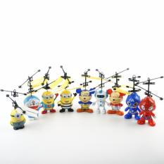 Quadcopter Drone Air Drone Kids Toy - Drone Sensor Tangan Despicable Me 2 Flying Minion Helicopter Aircraft - 1 Pcs Random Karakter