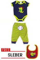 Review Terbaik Quincylabel Baby Jumper Great Catch Green Set Free Sleber F807
