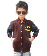 Toko Quincylabel Btman Kids Jacket Coklat Quincylabel