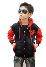 Toko Quincylabel Superman Kids Jacket Red Black Terlengkap Indonesia