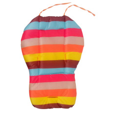 Warna Pelangi Yang Tebal dan Lembut Bantal Kursi Mobil Bayi BB