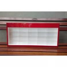 Rak Diecast Skala 1/64 Acrylic / Akrilik Untuk Hotwheels, Tomica, Matchbox Isi
