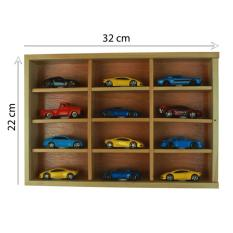 Rak Display Hot wheels / Kotak hotwheels / Rak Hotwheels isi 12